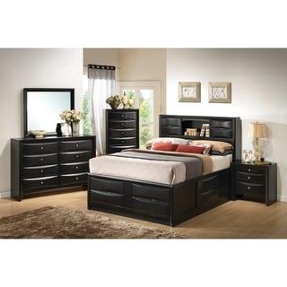 Briana Transitional Black 5-piece Bedroom Set