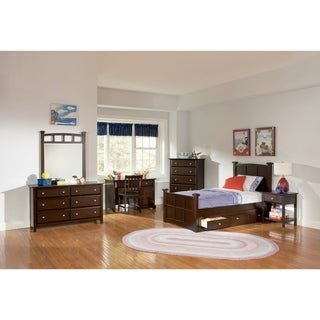 Jasper Transitional Cappuccino 4-piece Bedroom Set
