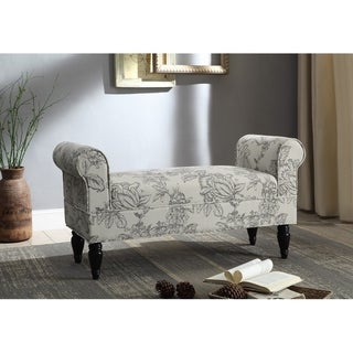 Justine Gray Toile Bench