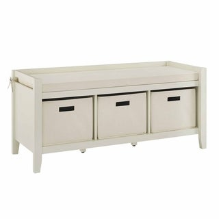Jax Cream Entryway Bench
