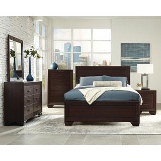 Strick & Bolton Dulah Dark Cocoa 5-piece Bedroom Set