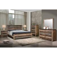 Carbon Loft Kiessling Rustic Antique 4-piece Bedroom Set
