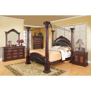 Grand Prado Cappuccino 4-piece Bedroom Set