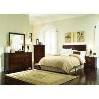 Copper Grove Campanula Brown 4-piece Bedroom Set