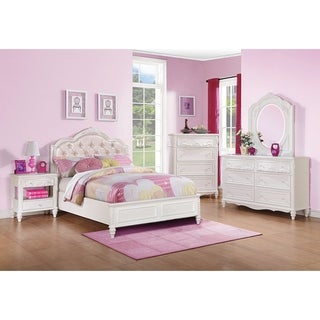 Caroline White 4-piece Bedroom Set