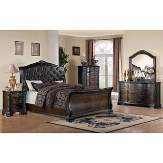 Maddison Brown Cherry 5-piece Bedroom Set