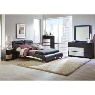 Felicity Contemporary Black 4-piece Bedroom Set
