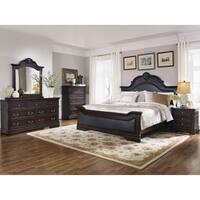 Cambridge Traditional Dark Brown 4-piece Bedroom Set