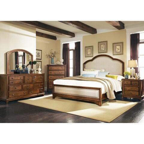 Laughton Rustic Linen 5-piece Bedroom Set