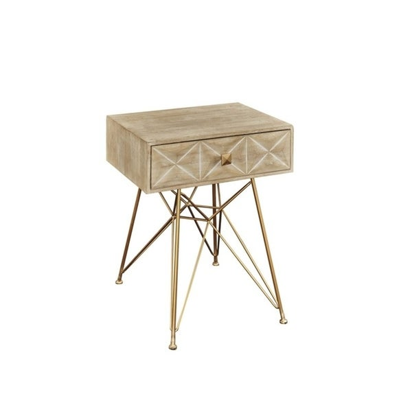 Grayson One Drawer Accent Table