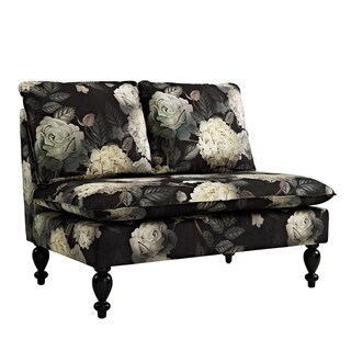 Blakely Midnight Floral Settee