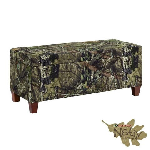 The Mossy Oak Nativ Living Storage Ottoman