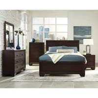 Oliver & James Dulah Dark Cocoa 5-piece Bedroom Set
