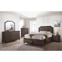 Richmond Rustic Dark Grey Oak 4-piece Bedroom Set
