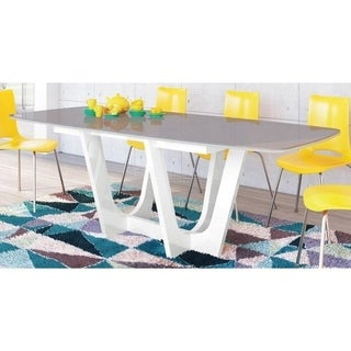 URBINO Dining Table with Extension - Grey