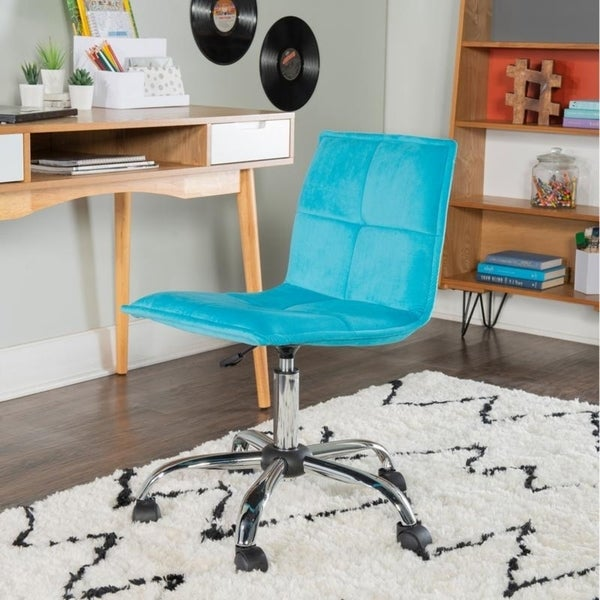 Memphis Blue Office Chair