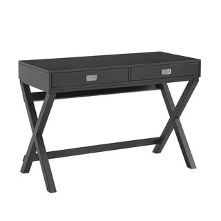 Poppy Black Writing Desk