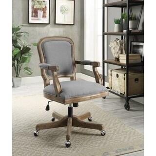 Willa Light Gray Office Chair
