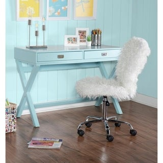 Poppy Blue Writing Desk