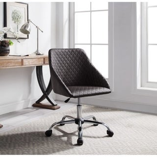 Ace Brown Quilted Office Chair