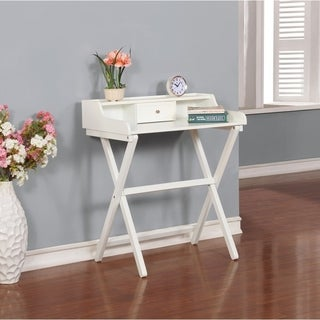 Clover White Folding Desk