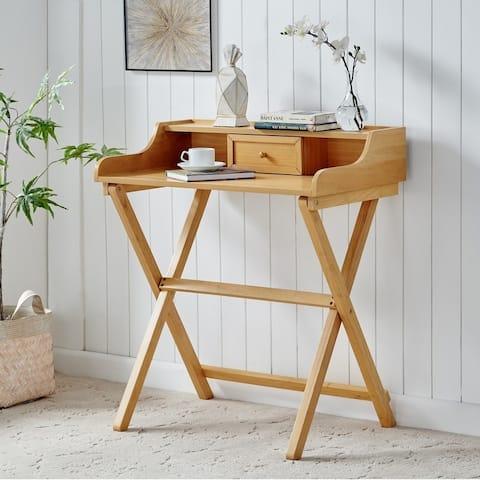 Clover Gray Wash Folding Desk