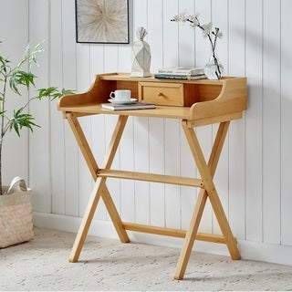 Clover Gray Wash Folding Desk