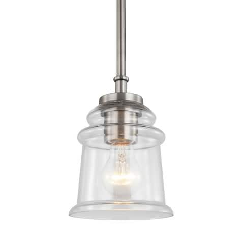 Woodbridge Lighting 19523ATN Elliot Mini-pendant