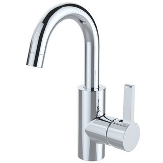 Goose Neck chrome Plated Brass 2 way Kitchen Water Faucet
