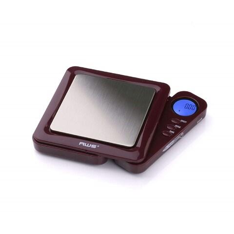 American Weigh Scales BL-100-BUR Burgundy Blade Digital Pocket Scale, 100 by 0.01 G