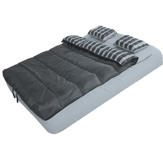 6-Piece Bed Set For Airbeds - Gray