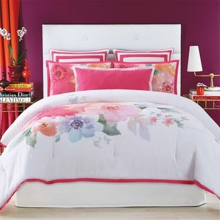 Christian Siriano Bold Floral 3 Piece Duvet Cover Set