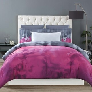 Christian Siriano Botanical Ombre 3 Piece Duvet Cover Set