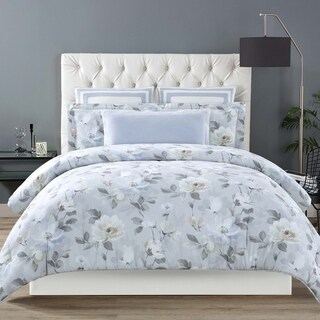 Christian Siriano Soft Floral 3 Piece Duvet Cover Set