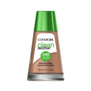 CoverGirl Clean Sensitive Liquid Foundation 540 Natural Beige