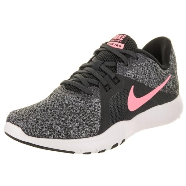 e0c3981317c5 Shop Nike Women s Flex Trainer 8 Training Shoe - Free Shipping Today ...