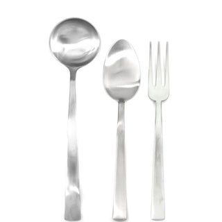 3-piece Stainless Steel Levantina Ice Serving Set (Fork, Spoon, and Ladle)