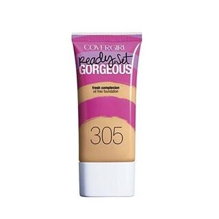 CoverGirl Ready Set Gorgeous Oil Free Foundation 305 Golden Tan