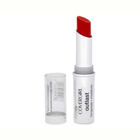 CoverGirl Outlast Longwear + Moisture Lipstick 915 Red Siren