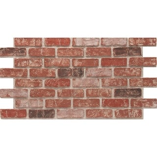 CompStone Faux Panels - Used Brick - Old Town