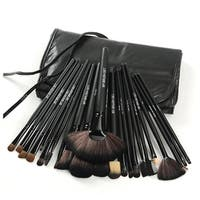 M.B.S Jet Black Make Up 24-piece Brush Set