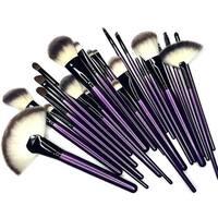 M.B.S Purple Tulip 24-piece Brush Set