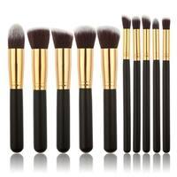 M.B.S 10 Piece Kabuki Brush Set