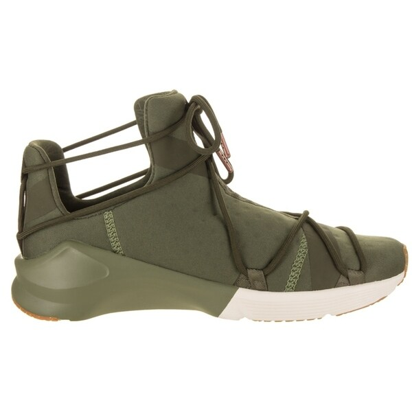 Womens Puma Fierce Rope VR Training Gym Shoes Olive