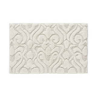 Five Queens Court Leo High Pile Damask Sculpted Bath Rug (5 options available)