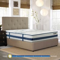 Broyhill Natural Spring Sapphire 11-inch King Size Earl Firm Cooling Gel Foam Hybrid Innerspring Mattress