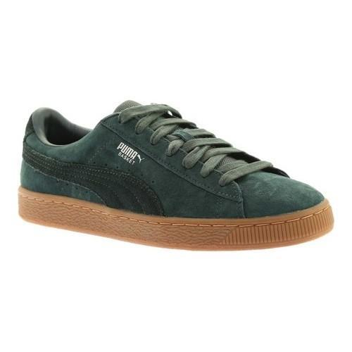 37b42d96a933 Shop Men s PUMA Basket Classic Weatherproof Green Gables Green Gables -  Free Shipping Today - Overstock.com - 18660794