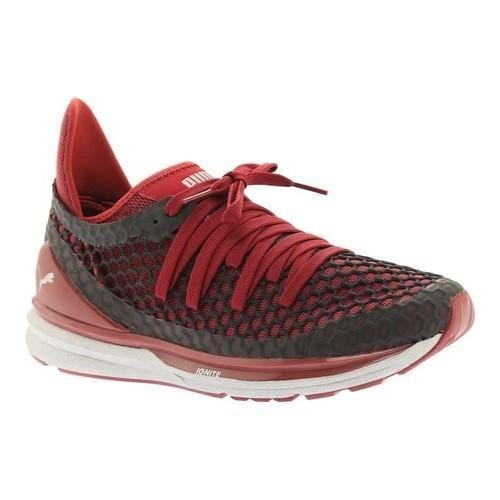 buy online 5b16d 071a5 Men's PUMA IGNITE Limitless NETFIT NC Training Shoe Tibetan Red/Puma Black