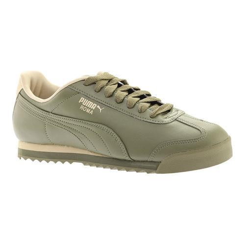 Shop Men s PUMA Roma Basic Burnt Olive Pale Khaki - Free Shipping On Orders  Over  45 - Overstock - 18660809 0da395155