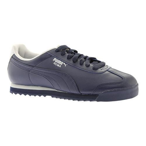 Shop Men s PUMA Roma Basic Peacoat Gray Violet - Free Shipping Today -  Overstock - 18660811 a1d0863a3